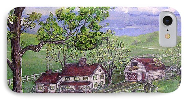 Wyoming Homestead Phone Case by Phyllis Mae Richardson Fisher