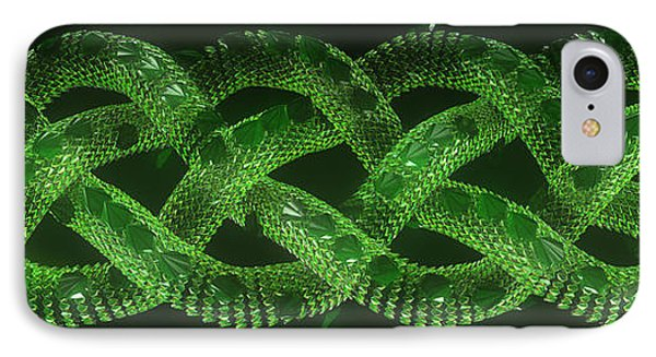 Wyrm - The Celtic Serpent IPhone Case