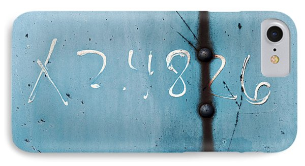 X 2.4826 ...slate Blue IPhone Case by Tom Druin