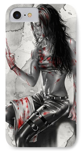 X23 IPhone Case by Pete Tapang
