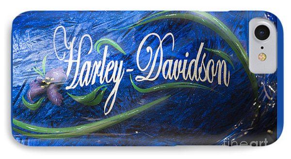 Harley Davidson 2 IPhone Case by Wendy Wilton