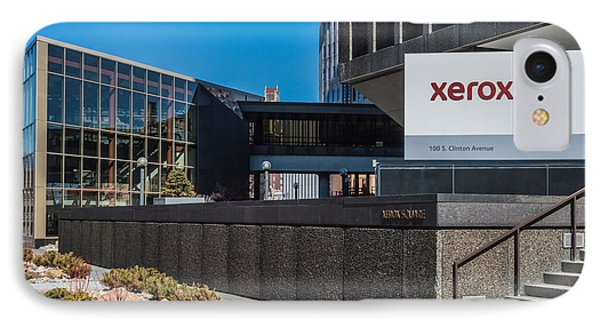 Xerox Tower Entrance IPhone Case