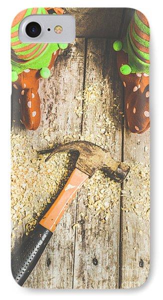 Elf iPhone 7 Case - Xmas Workshop Elf by Jorgo Photography - Wall Art Gallery