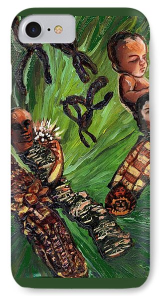 Xx Chromosomes Microbiology Landscapes Series Phone Case by Emily McLaughlin