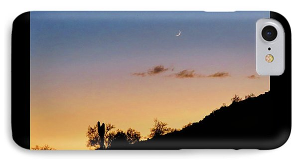Y Cactus Sunset Moonrise IPhone Case