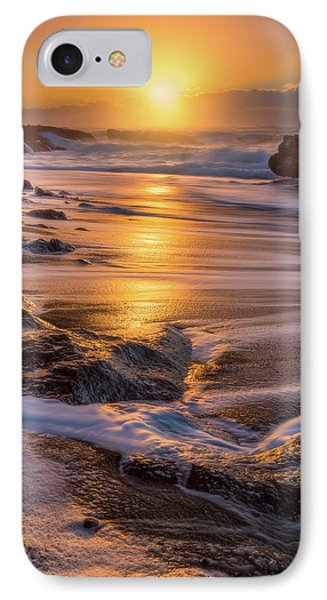 IPhone Case featuring the photograph Yachats' Sun by Darren White