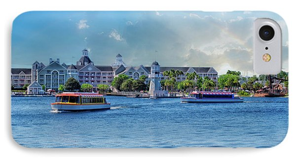 Yacht And Beach Club Walt Disney World IPhone Case