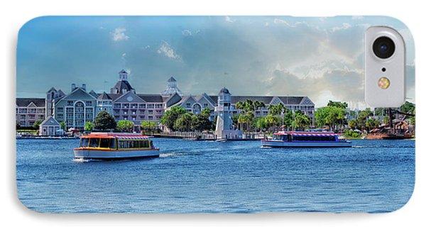 Yacht And Beach Club Walt Disney World IPhone Case by Thomas Woolworth