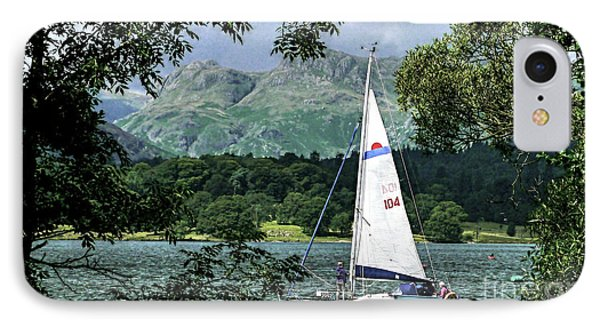 Yachting Lake Windermere IPhone Case