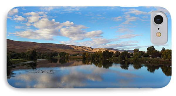 Yakima River Mirror IPhone Case by Mike Dawson