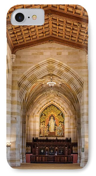 Yale University Sterling Memorial Library IPhone Case by Susan Candelario