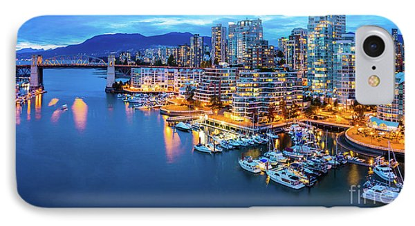 Yaletown Panorama IPhone Case by Inge Johnsson