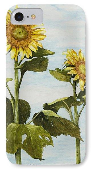 Yana's Sunflowers IPhone Case