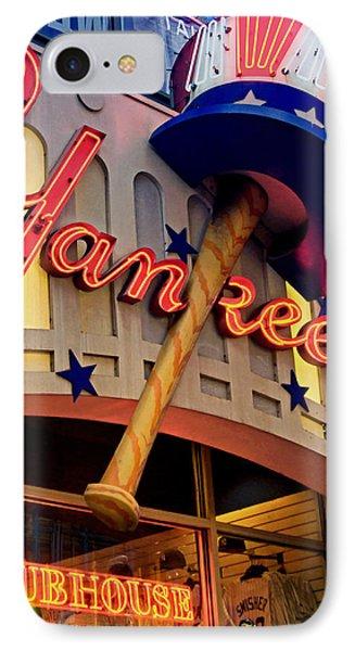Yankee Clubhouse Phone Case by Joann Vitali