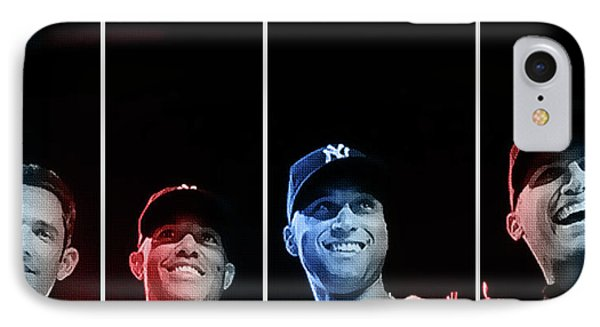 Yankee Core Four By Gbs IPhone Case by Anibal Diaz