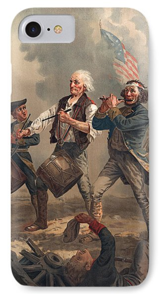 Yankee Doodle Or The Spirit Of 76 IPhone Case by Archibald Willard