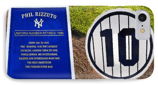 Yankee Legends Number 10 Phone Case by David Lee Thompson