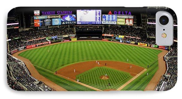 Yankee Stadium 1 IPhone Case by Nishanth Gopinathan