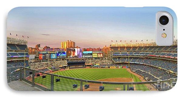 Yankee Stadium 2 IPhone Case by Nishanth Gopinathan