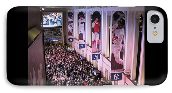 Yankee Stadium Great Hall 2009 World Series Color  IPhone Case