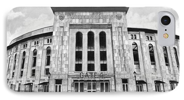 Yankee Stadium IPhone Case by Greg DiNapoli