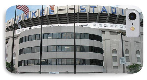 Yankee Stadium - New York IPhone Case by Daniel Hagerman