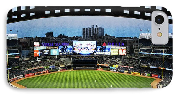 Yankee Stadium With Facade IPhone Case by Nishanth Gopinathan