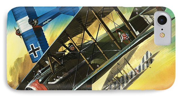 Yankee Super Ace Edward Rickenbacker IPhone Case