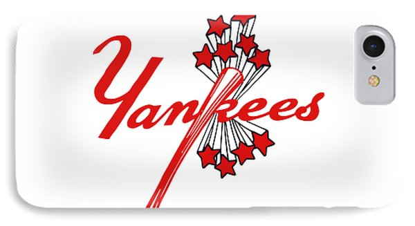 Yankees Vintage IPhone Case by Gina Dsgn