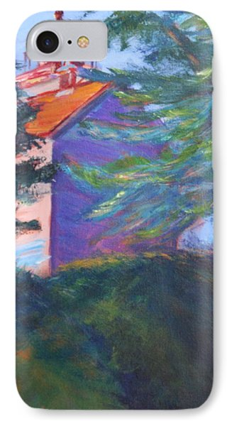 Yaquina Bay Lighthouse  IPhone Case by Quin Sweetman