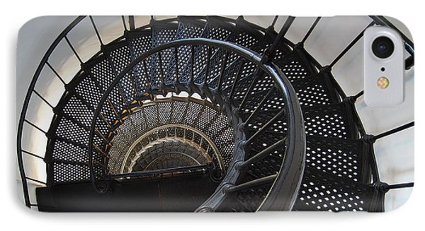 Yaquina Lighthouse Stairway Nautilus - Oregon State Coast Phone Case by Daniel Hagerman