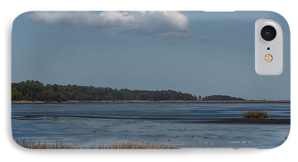 IPhone Case featuring the photograph Yawkey Wildlife Reguge - View From The Causeway by Suzanne Gaff