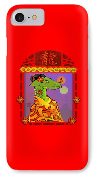 Year Of The Dragon Phone Case by LD Gonzalez