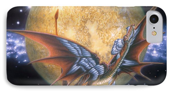 Year Of The Dragon IPhone Case by Wayne Pruse