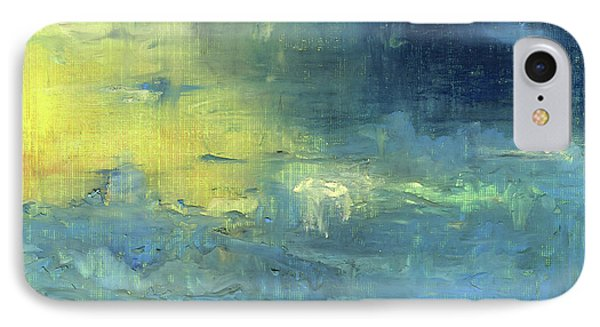 IPhone Case featuring the painting Yearning Tides by Michal Mitak Mahgerefteh