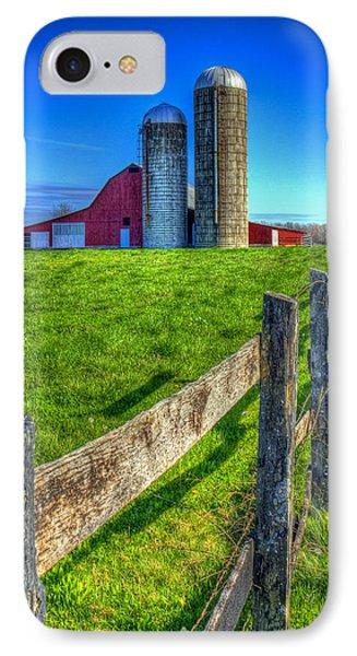 Years Gone By Tennessee Farm Art IPhone Case by Reid Callaway