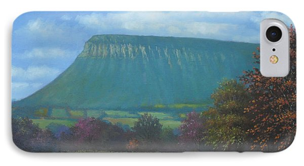 Yeats Country With Benbulben Phone Case by Sean Conlon