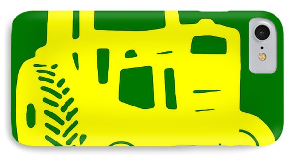 Yellow And Green Emblem Design IPhone Case