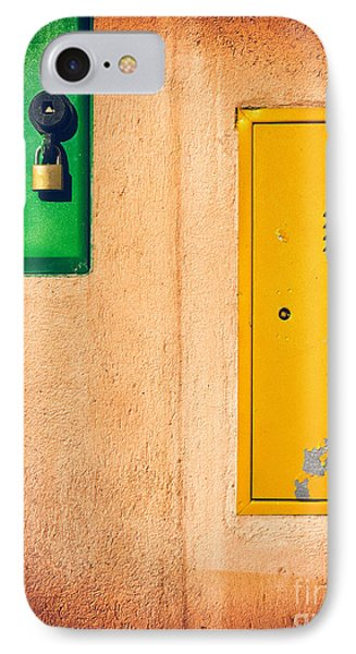 Yellow And Green IPhone 7 Case by Silvia Ganora
