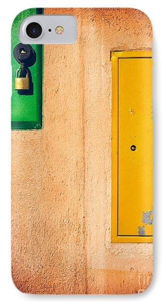 Yellow And Green IPhone Case