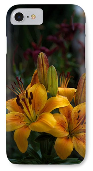 IPhone Case featuring the photograph Yellow Beauties by Cherie Duran