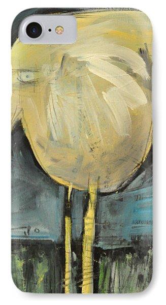 Yellow Bird In Field Phone Case by Tim Nyberg