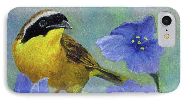 Yellow Bird IPhone Case by Roseann Gilmore