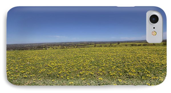 IPhone Case featuring the photograph Yellow Blanket II by Douglas Barnard