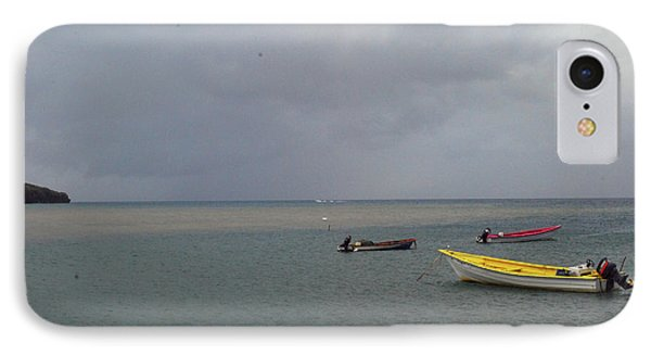 IPhone Case featuring the photograph Yellow Boat by Gary Wonning