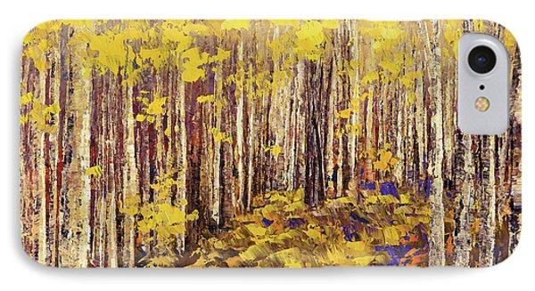 Yellow Brick Road IPhone Case by Tatiana Iliina