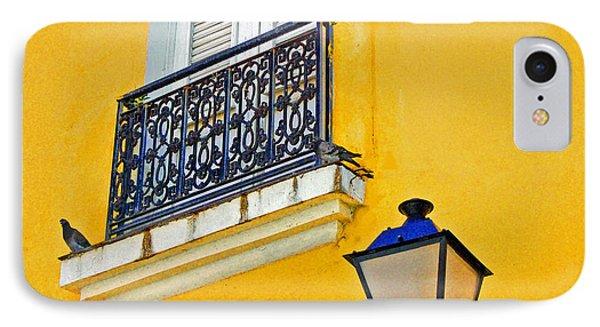 Yellow Building Phone Case by Debbi Granruth