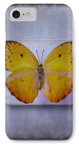 Yellow Butterfly Dreams IPhone Case by Garry Gay