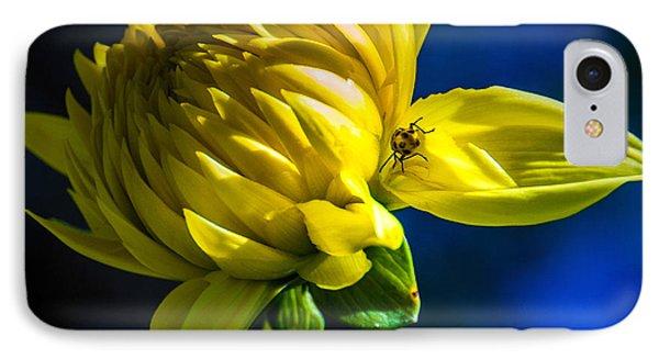 Yellow Camo IPhone Case