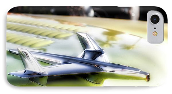 Yellow Chevy  IPhone Case by Mark David Gerson